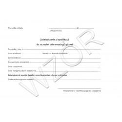 Zaświadczeni o kwalifikacji do szczepień ochronnych przeciw tężcowi
